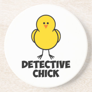 Detective Chick Drink Coasters