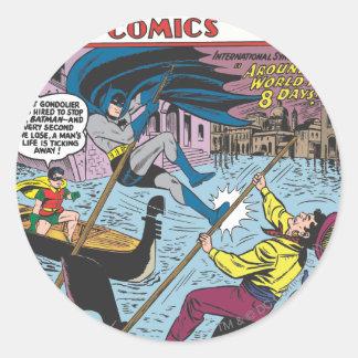 Detective Comics #248 Classic Round Sticker