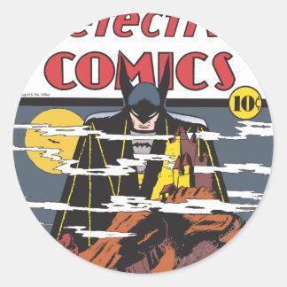 Detective Comics #31 Classic Round Sticker