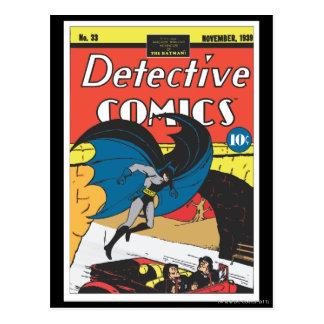 Detective Comics #33 Post Card
