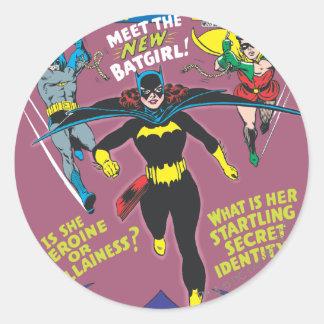Detective Comics #359 Classic Round Sticker