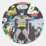 Detective Comics #387 Round Stickers