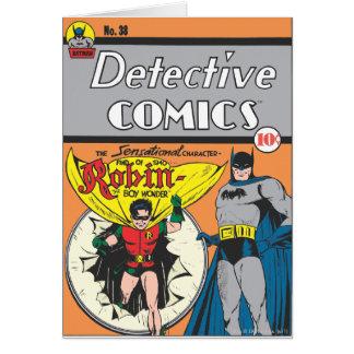 Detective Comics #38 Card