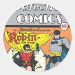 Detective Comics #38 Classic Round Sticker