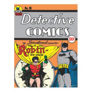 Detective Comics #38 Postcard