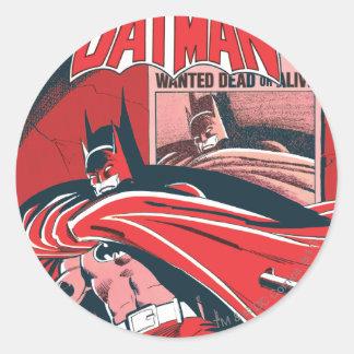 Detective Comics #546 Classic Round Sticker