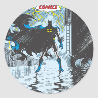 Detective Comics #587 Classic Round Sticker