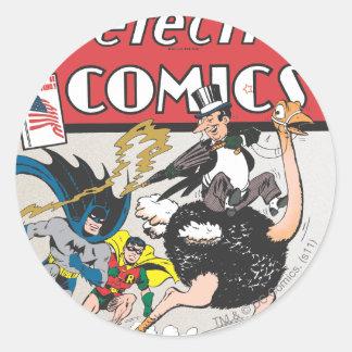 Detective Comics #67 Classic Round Sticker