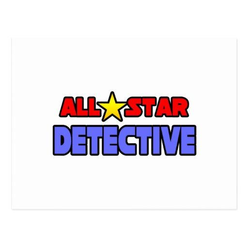 Detective de All Star Tarjeta Postal