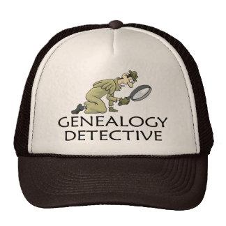 Detective de la genealogía gorro de camionero