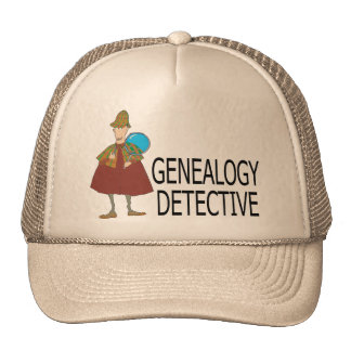 Detective de la genealogía gorro