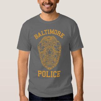 detective de Maryland de la policía de Baltimore Remera