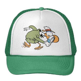 Detective del pelotón de las aves de corral del pa gorras