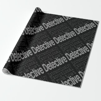 Detective Extraordinaire Wrapping Paper