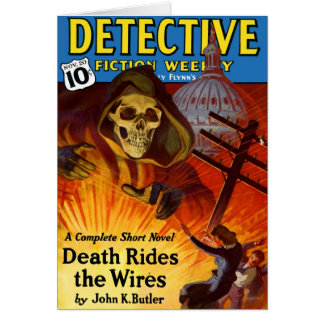 Detective Fiction Weekly Card