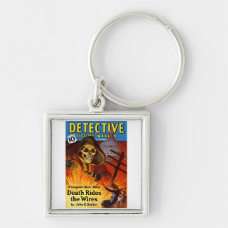 Detective Fiction Weekly Keychain