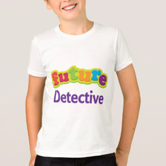 Detective (Future) Pacifier Gift T-Shirt