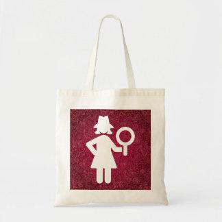 Detective Investigators Minimal Tote Bag