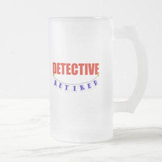 DETECTIVE JUBILADO TAZA DE CAFÉ