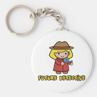 Detective Key Chain