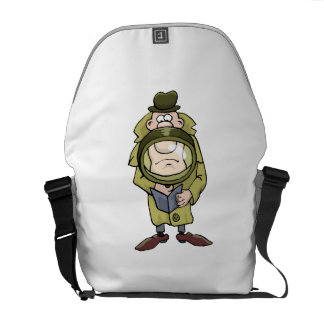 Detective Courier Bag