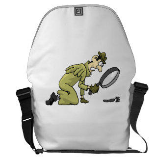 Detective Messenger Bags