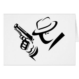 Detective Mobster Card