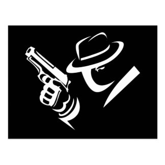 Detective Mobster Postcard 2