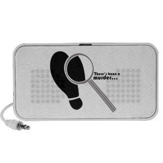 Detective Murder Portable Speakers