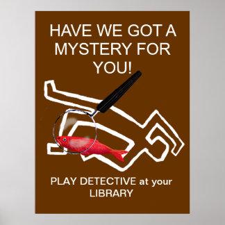 Detective novels poster