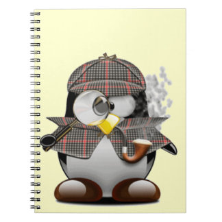 Detective Penguin Notebook