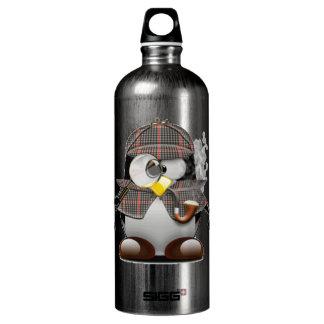 Detective Penguin Water Bottle