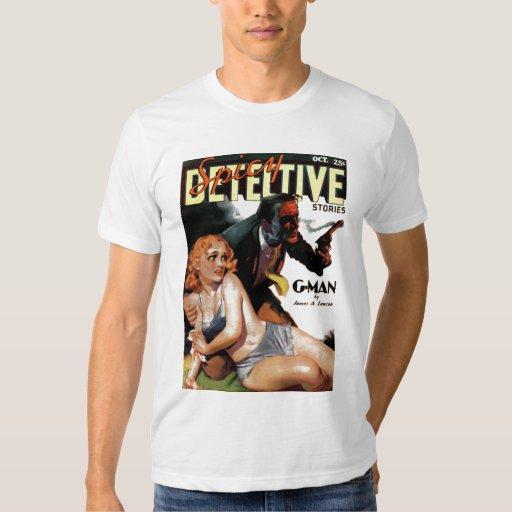 "Detective picante - camiseta del ""G-Man"" Polera"