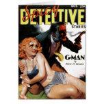 """Detective picante - tarjeta del """"G-Man"""""""