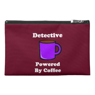 """""""Detective"""" Powered by Coffee Travel Accessory Bag"""