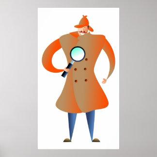 Detective Print
