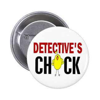 Detective's Chick 1 Pinback Button
