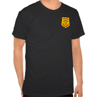 Detective secret investigator badge shirts