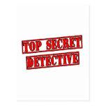Detective secretísimo tarjetas postales