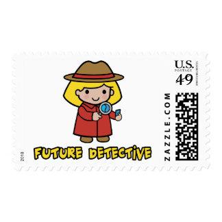 Detective Sello Postal