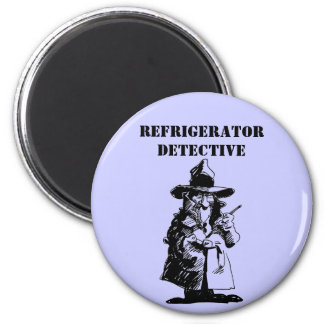 Detective Sly Ol Gumshoe Murder Mystery Sleuth 2 Inch Round Magnet