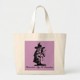 Detective Sly Ol Gumshoe Murder Mystery Sleuth Canvas Bag