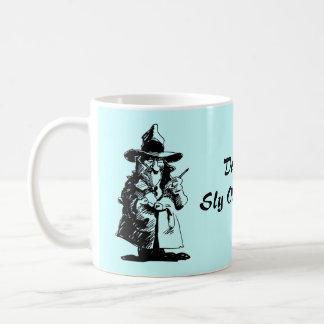 Detective Sly Ol Gumshoe Murder Mystery Sleuth Classic White Coffee Mug