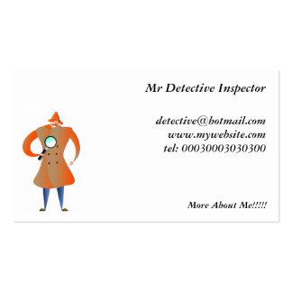 Detective Tarjetas De Visita