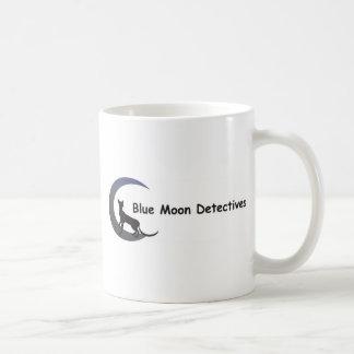 Detectives de la luna azul taza