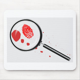 Detectives Magnifying Glass Mouse Pad