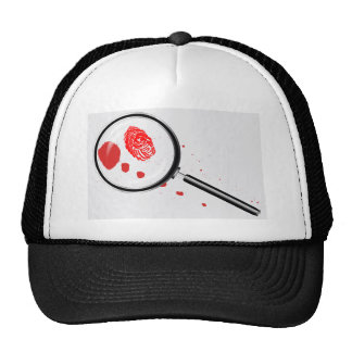 Detectives Magnifying Glass Trucker Hat
