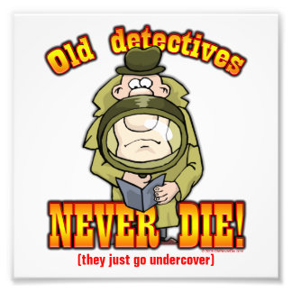 Detectives Photo Print