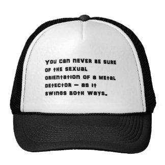 Detector de balanceo gorras de camionero