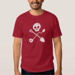 Detectorist Skull - Sondengänger head Tee Shirts